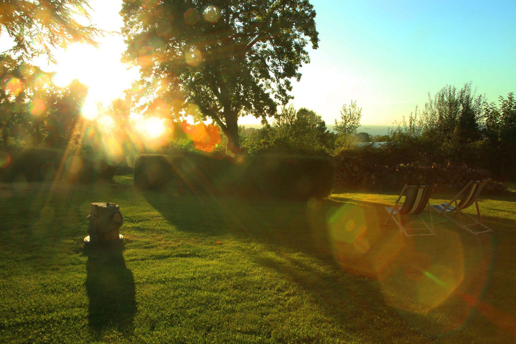 Coucher de soleil sur la roquette